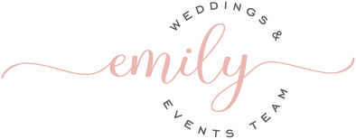 Emily Weddings + Events Team
