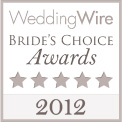 WeddingWire Bride's Choice Awards 2012